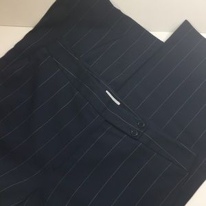 Ann Taylor lined dress pant navy 12